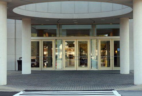 Von Maur Department Store - Commercial glass doors